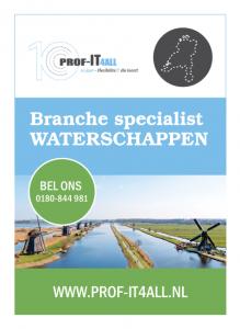 Flyer Prof-IT4all voor Waterschappen