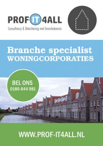 Folder Woningcorporaties